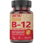 Deva Vegan B12 with Folic Acid & B6 Sublingual
