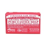 Dr. Bronner's Organic Castile Bar Soap Rose