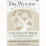 Dr. Woods Coconut Milk Raw Shea Butter Soap
