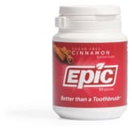 Epic Dental Xylitol Sweetened Cinnamon Gum