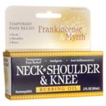 Frankincense & Myrrh Neck, Shoulder & Knee Rubbing Oil