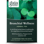 Gaia Herbs Bronchial Wellness Herbal Tea