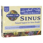 Garden of Life Herbal Immune Balance Sinus