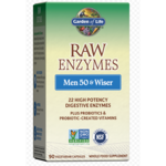 Garden of Life RAW Enzymes Men 50 & Wiser