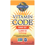 Garden of LifeVitamin Code RAW D3