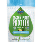 Garden of Life Organic Plant Protein - Smooth Vanilla