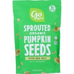 Go Raw Sprouted Pumpkin Seeds with Celtic Sea Salt
