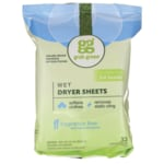 GrabGreen Wet Dryer Sheets - Fragrance Free
