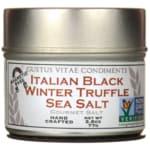 Gustus Vitae Italian Black Truffle Sea Salt
