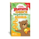 Hero Nutritionals Yummi Bears Vegetarian Calcium + Vitamin D3 Sour