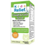 Homeolab USA Kids Relief Cough & Cold Syrup