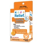 Homeolab USA Kids Relief Teething Oral Liquid - Orange Flavor