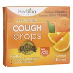 HerbionCough Drops - Orange