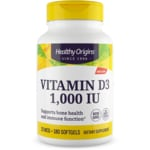 Healthy Origins Vitamina D3 1000 UI