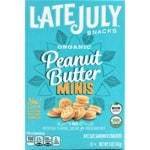 Late July Organic Mini Peanut Butter Sandwich