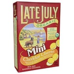 Late JulyOrganic Mini Cheddar Cheese Sandwich Crackers