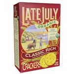 Late JulyOrganic Classic Rich Crackers