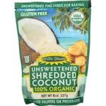 Let's Do Organic Coco rallado finamente 100 % orgánico, sin azúcar