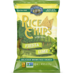 Lundberg Family Farms Rice Chips Fiesta Lime
