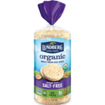 Lundberg Family Farms Organic Brown Rice Cakes - Salt Free