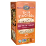 Lundberg Family Farms Thin Stackers Puffed Grain Cakes - Red Rice & Quinoa