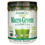 MacroLife Naturals Macro Greens Nutrient-Rich Super Food
