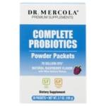 Dr. MercolaComplete Probiotics Powder Packets - Raspberry Flavor