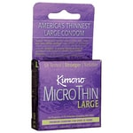Mayer Laboratories Kimono MicroThin Condom - Large