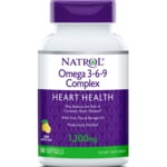 Natrol Omega 3-6-9 Complex Lemon