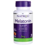 NatrolMelatonin 3mg Fast Dissolve