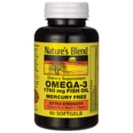 Nature's Blend Omega-3 Fish Oil Extra Strength