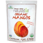 Nature's All FoodsOrganic Fair Trade Freeze Dried Mango