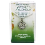 Nature's Alchemy Irish Claddagh Diffuser Pendant Necklace