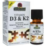 Nature's Answer Vitamin D3 & K2