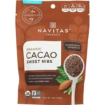 Navitas Naturals Sweet Raw Chocolate Cacao Nibs