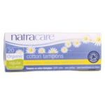 NatracareOrganic Non-Applicator Regular Tampons