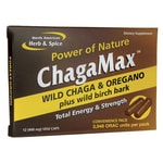 North American Herb & SpiceChagaMax Wild Chaga & Oregano Convenience Pack