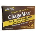 North American Herb & Spice ChagaMax Wild Chaga & Oregano Convenience Pack