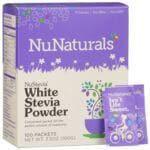NuNaturalsNuStevia White Stevia Powder