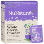 NuNaturals NuStevia White Stevia Powder