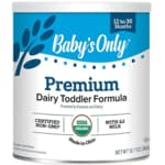 Nature's One Baby's Only Organic Dairy Based Formula Iron Fortified
