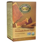 Nature's Path Organic Toaster Pastries Frosted - Maple Brown Sugar