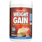 Naturade Weight Gain Instant Nutrition Drink Mix - Vanilla
