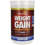 NaturadeWeight Gain Instant Nutrition Drink Mix - Vanilla