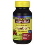 Nature MadeSuper Strength Cranberry with Vitamin C