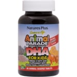Nature's Plus Animal Parade DHA for Kids Cherry Flavor
