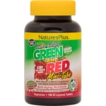 Nature's Plus Source of Life Green and Red Mini Tabs
