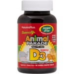 Nature's Plus Animal Parade Sugar Free Vitamin D3