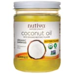Nutiva Organic Coconut Oil with Buttery Flavor
