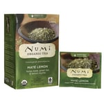 Numi Organic Tea Green Tea - Mate Lemon
